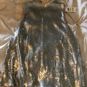 NWT Inc sparkly top